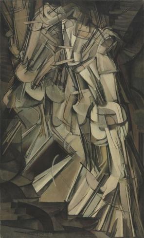 """Marcel Duchamp """"Desnudo bajando una escalera"""""""