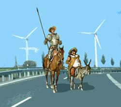 Las lágrimas de Don Quijote. La aventura del puerto de Aralla