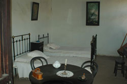 Dormitorio de Gabriela Mistral