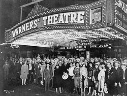 Extreno de Don Juan 8 de agosto de 1926