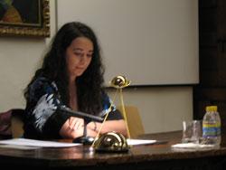 Recital poético de Isabel Revuelta García