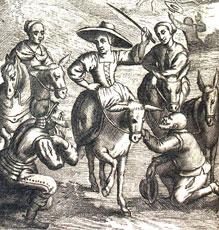Don Quijote, Dulcinea y Sancho